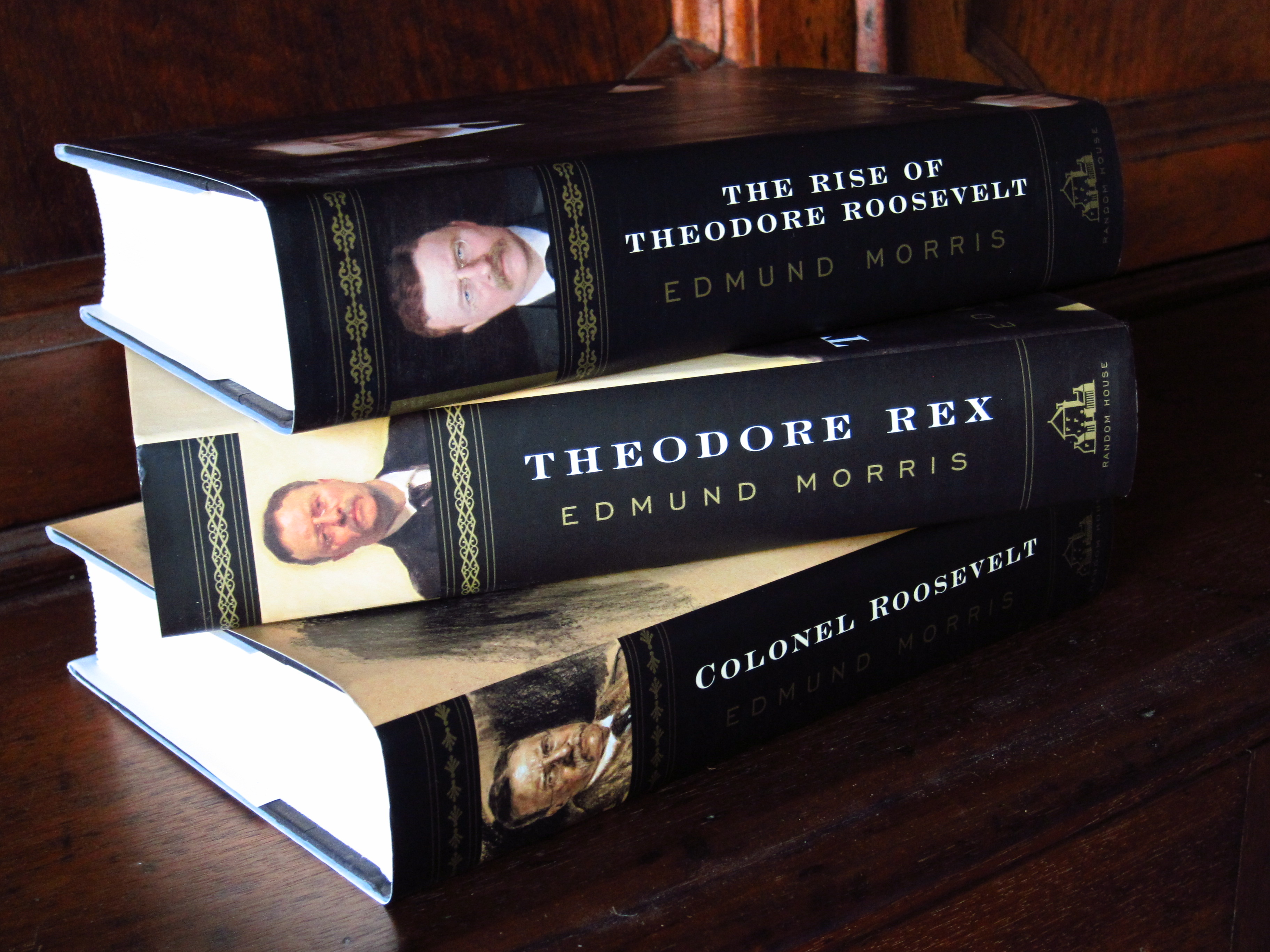 Biography of Theodore Roosevelt, by Edmund Morris