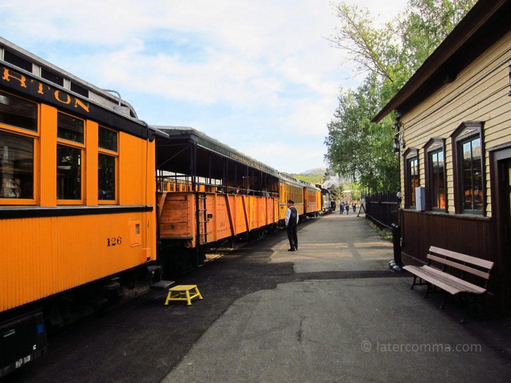 Durango & Silverton Railroad, Durango Station