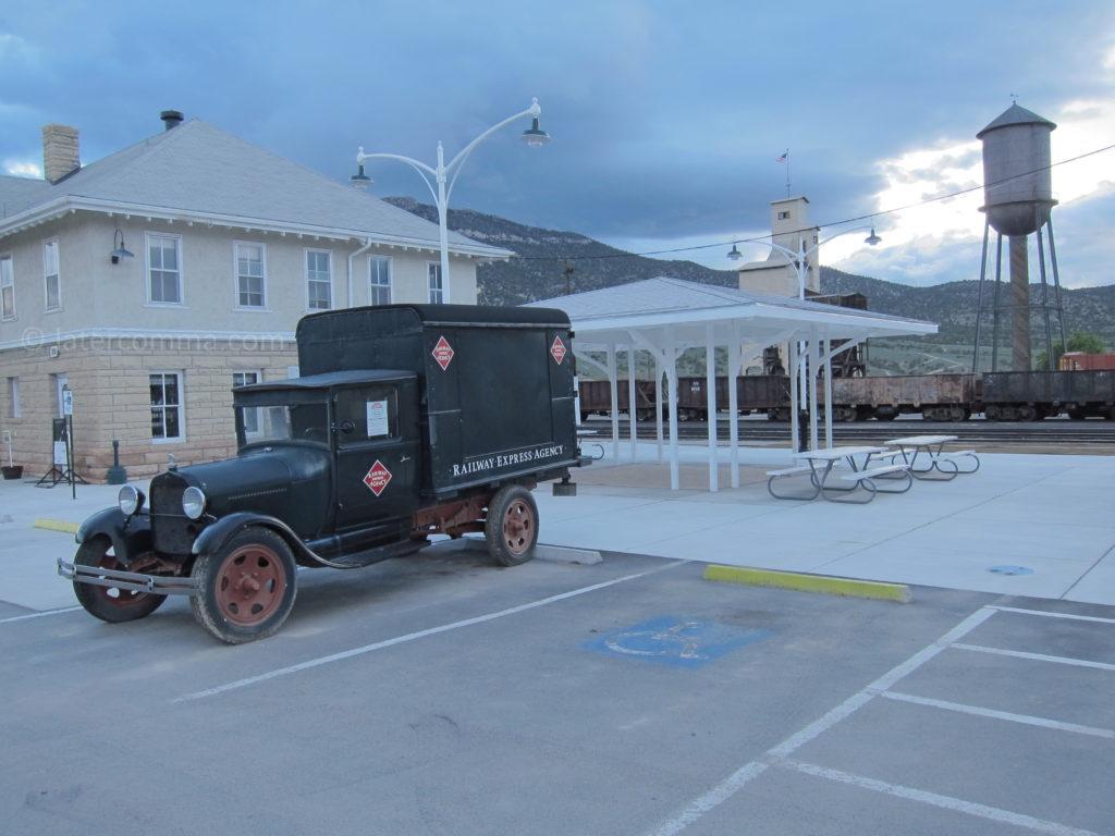 Nevada Northern Rail Yard in Ely