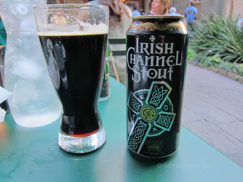 Irish Channel Stout, Café Amelie.