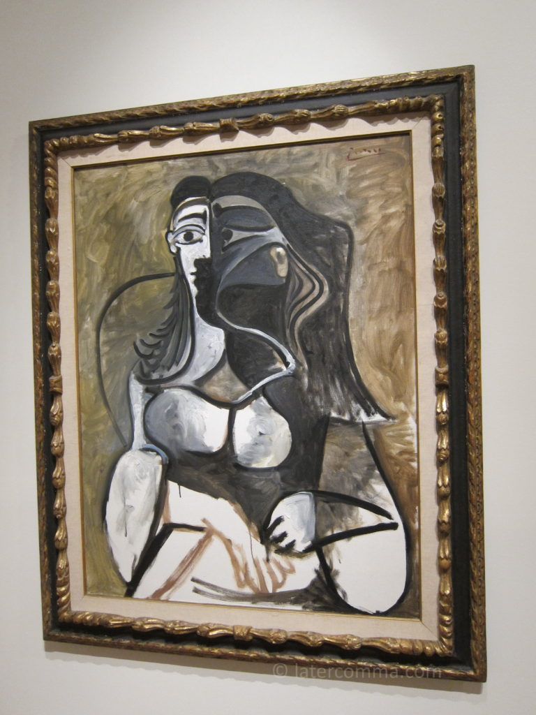 Painting by Pablo Picasso, New Orleans Museum of Art.