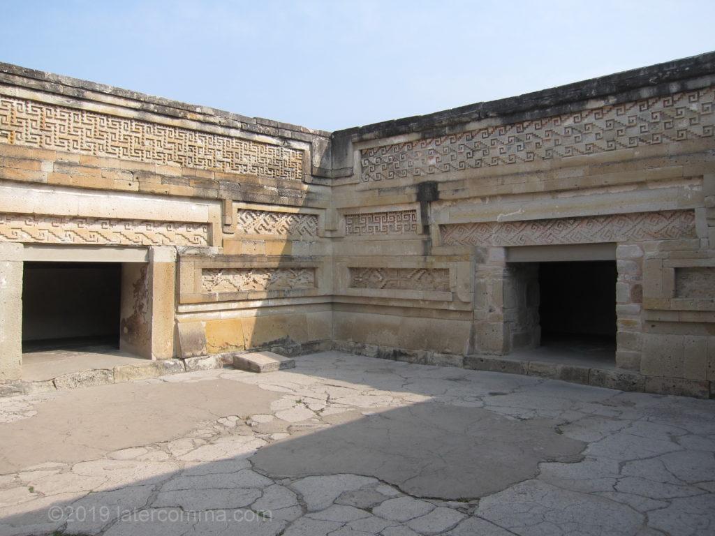 Mitla mosaic walls